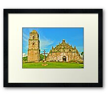 St. Augustine Church - A UNESCO World Heritage Site Framed Print