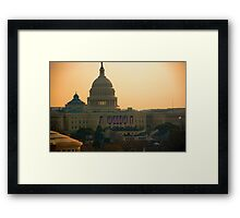 Obama Inauguration - Washington, DC Framed Print