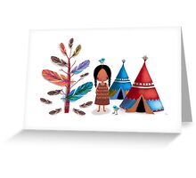 The Feather Tree Greeting Card
