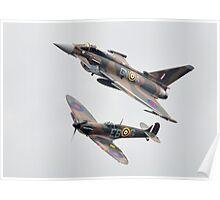 Spitfire Typhoon Poster