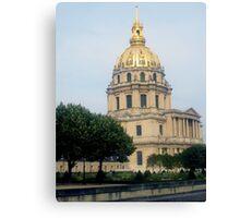 Around Paris-Napoleon Tomb Canvas Print