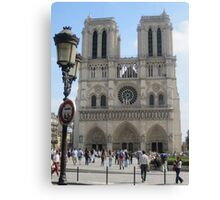 Around Paris-Notre Dame Canvas Print