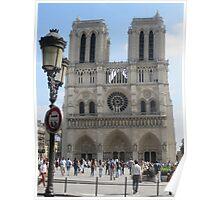 Around Paris-Notre Dame Poster