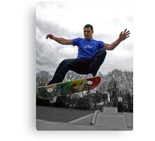 Stanley Front Side Air Canvas Print
