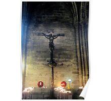Notre Dame- Crucifix Poster