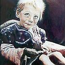 Six Million Lives Color Pencil @ www.KeithMcDowellArtist.com  by © Keith McDowell, Artist