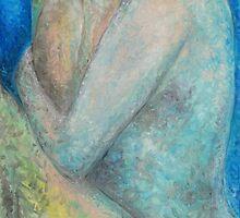 Blue girl by Carolyn Stringer