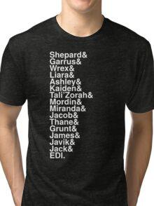 Stars of Mass Effect Tri-blend T-Shirt