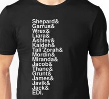 Stars of Mass Effect Unisex T-Shirt