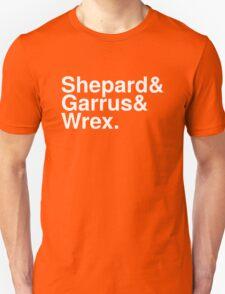 Mass Effect Names - 2 Unisex T-Shirt