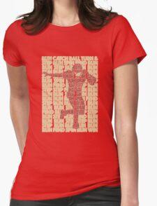 Jarryd Hayne - RunRun (cutout) Womens Fitted T-Shirt