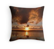 First Sunset of the Year #2 Throw Pillow