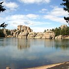 Sylvan Lake, South Dakota by Margaret  Hyde