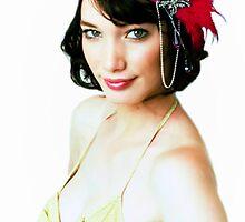 Fascinator Girl © shhevaun.com by Shevaun  Shh!