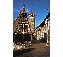 Alte Schmied - Rothenburg 1985 Photographic Print