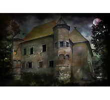 Castle in Dębno .... Photographic Print