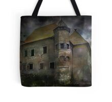 Castle in Dębno .... Tote Bag