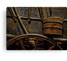 Rustic Travel Canvas Print