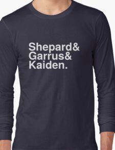 Mass Effect Names - 3 Long Sleeve T-Shirt