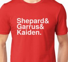 Mass Effect Names - 3 Unisex T-Shirt