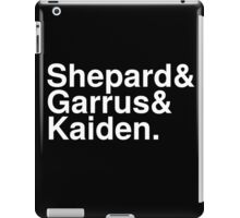Mass Effect Names - 3 iPad Case/Skin