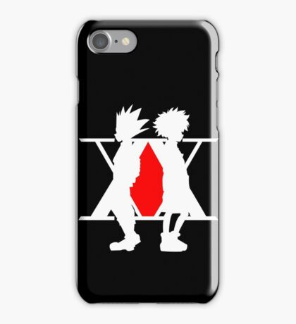 Hunter X Hunter Gon Killua Logo Anime Cosplay Japan T Shirt  iPhone Case/Skin