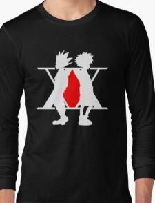 Hunter X Hunter Gon Killua Logo Anime Cosplay Japan T Shirt  Long Sleeve T-Shirt