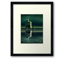 Castle in the Water Framed Print