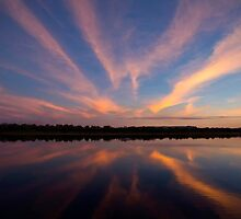 Ord River Sunset by Karine Radcliffe