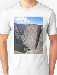 Painted Wall, Black Canyon of the Gunnison, Colorado T-Shirt