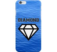 Diamond poster sea  iPhone Case/Skin