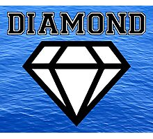 Diamond poster sea  Photographic Print