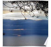 torrey sunset Poster