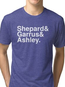 Mass Effect Names - 4 Tri-blend T-Shirt