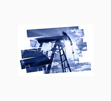 Oil industry abstract composition background. Unisex T-Shirt