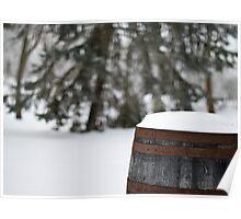 Barrells Of Snow Poster
