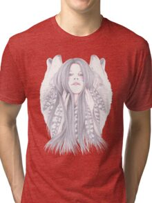 Shadowing Tri-blend T-Shirt