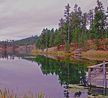 Stockade Lake, South Dakota by Margaret  Hyde