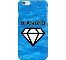Diamond poster pool iPhone Case/Skin