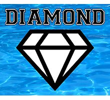 Diamond poster pool Photographic Print