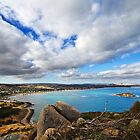 Encounter Bay from the Bluff by KathyT