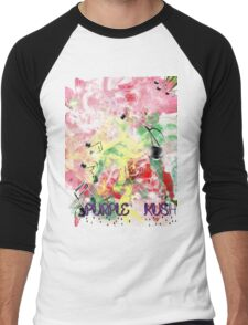 purple dreams 2 Men's Baseball ¾ T-Shirt