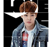 EXO Xiumin 'Love Me Right' Photographic Print