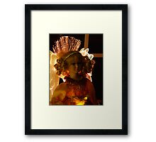 Chistmas Doll Framed Print