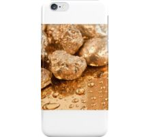 gold nuggets iPhone Case/Skin