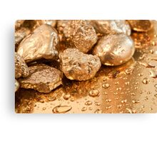 gold nuggets Canvas Print