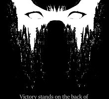 Victory stands on the back of sacrifice by Dyscordia