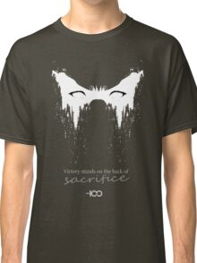 Victory stands on the back of sacrifice Classic T-Shirt