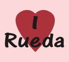 I Love Rueda - Dance T-Shirt Baby Tee