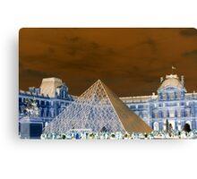 Louve in Paris -2 Canvas Print